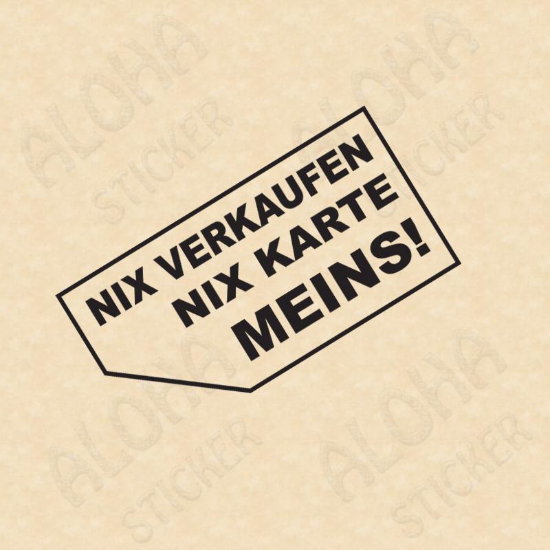 Nix Verkaufen